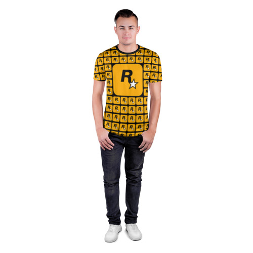 Мужская футболка 3D спортивная  Фото 04, Rockstar