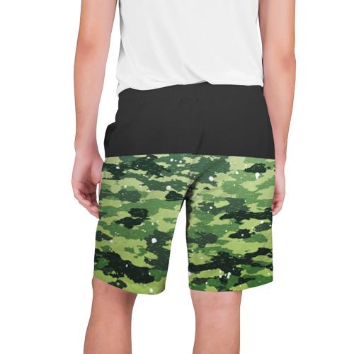Мужские шорты 3D  Фото 02, Black Milk Camo Black Snow