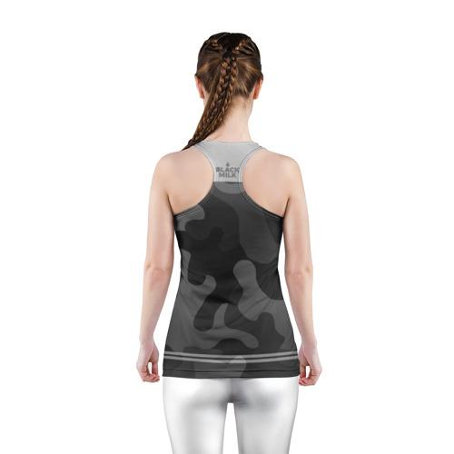 Женская майка 3D спортивная  Фото 04, Black Milk Stereo Kids