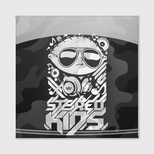 Холст квадратный  Фото 02, Black Milk Stereo Kids