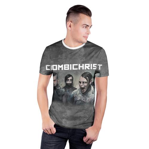 Мужская футболка 3D спортивная  Фото 03, Combichrist