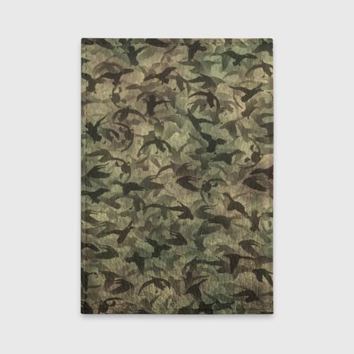Обложка для автодокументов  Фото 02, Охотничий камуфляж с утками