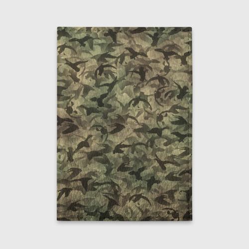 Обложка для автодокументов  Фото 01, Охотничий камуфляж с утками