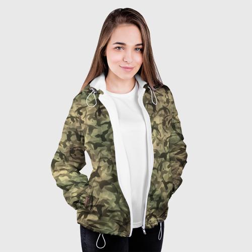 Женская куртка 3D  Фото 04, Охотничий камуфляж с утками