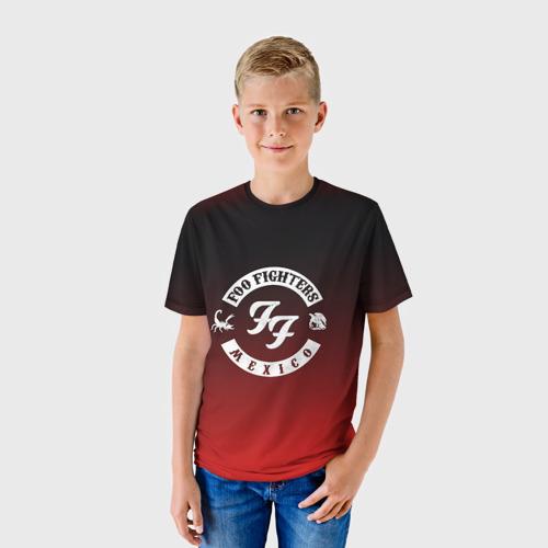 Детская футболка 3D  Фото 01, Foo Fighters
