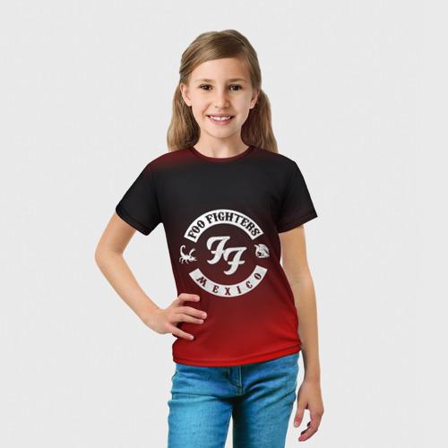 Детская футболка 3D  Фото 03, Foo Fighters