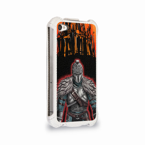Чехол для Apple iPhone 4/4S flip  Фото 02, Dark souls