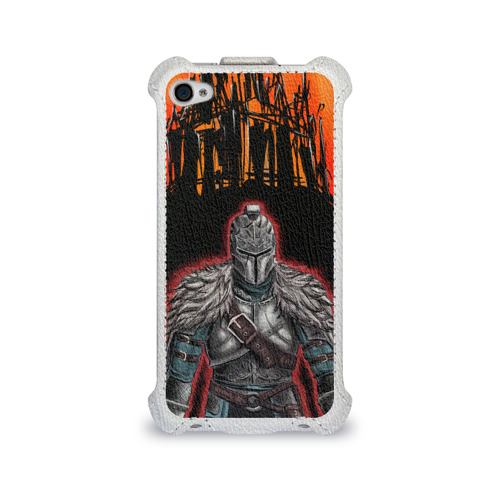 Чехол для Apple iPhone 4/4S flip  Фото 01, Dark souls