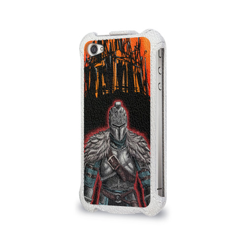 Чехол для Apple iPhone 4/4S flip  Фото 03, Dark souls