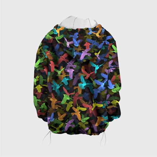 Детская куртка 3D  Фото 02, Разноцветные птички