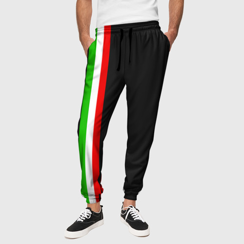 Мужские брюки 3D  Фото 01, Black Milk Italiano