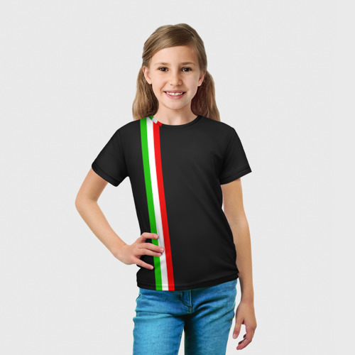 Детская футболка 3D  Фото 03, Black Milk Italiano