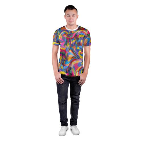 Мужская футболка 3D спортивная  Фото 04, Узор 3