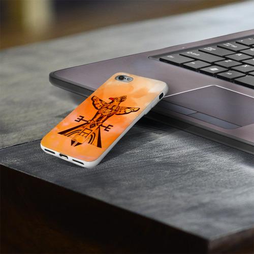 Чехол для Apple iPhone 8 силиконовый глянцевый  Фото 03, этника