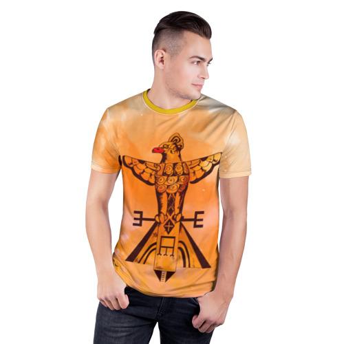 Мужская футболка 3D спортивная  Фото 03, этника
