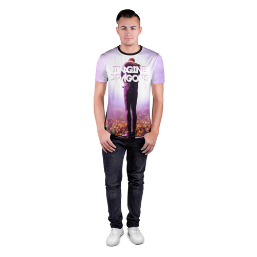 Мужская футболка 3D спортивная  Фото 04, Pink