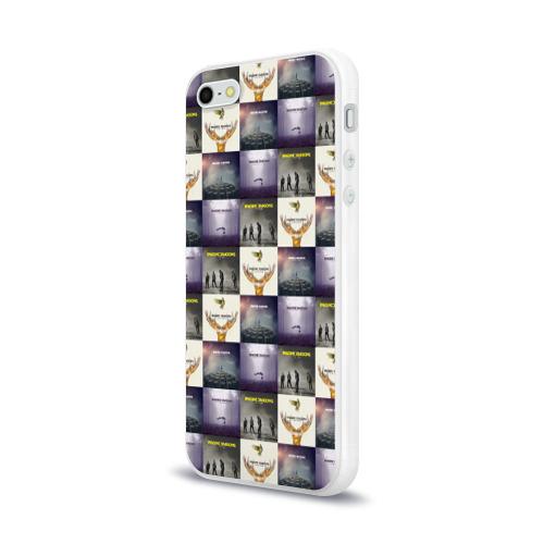 Чехол для Apple iPhone 5/5S силиконовый глянцевый  Фото 03, Imagine dragons