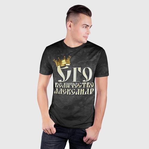 Мужская футболка 3D спортивная  Фото 03, Его величество Александр