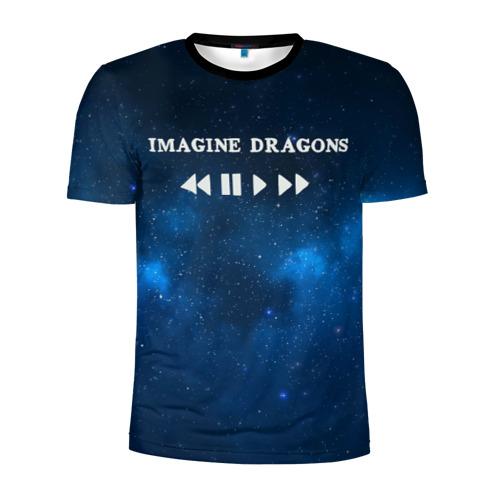 Мужская футболка 3D спортивная  Фото 01, Imagine dragons