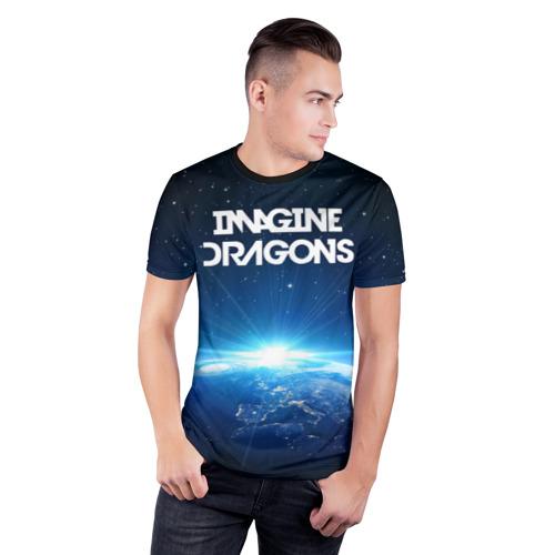 Мужская футболка 3D спортивная  Фото 03, WORLD