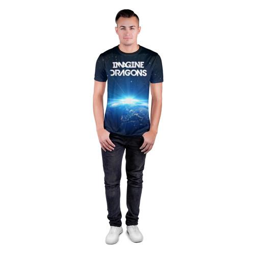 Мужская футболка 3D спортивная  Фото 04, WORLD