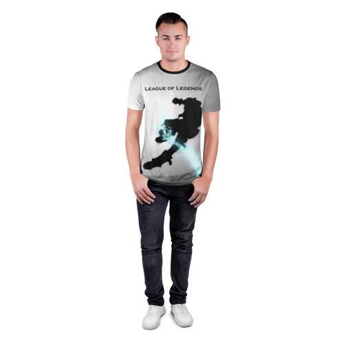 Мужская футболка 3D спортивная  Фото 04, Лига Легенд