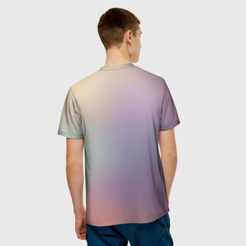 Мужская футболка 3D  Фото 02, Light