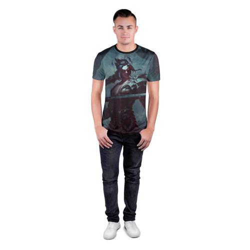Мужская футболка 3D спортивная  Фото 04, Metal