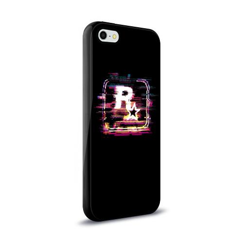 Чехол для Apple iPhone 5/5S силиконовый глянцевый  Фото 02, Rockstar Noise