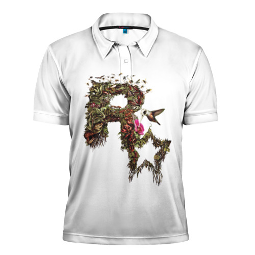Мужская рубашка поло 3D  Фото 01, Rockstar Decay