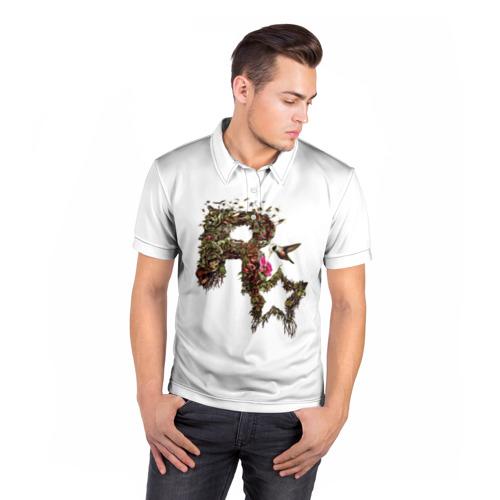 Мужская рубашка поло 3D  Фото 05, Rockstar Decay