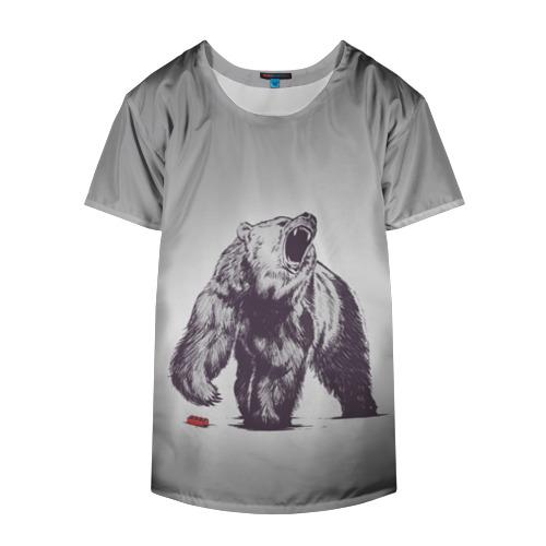 Накидка на куртку 3D  Фото 04, Медведь наступил на лего