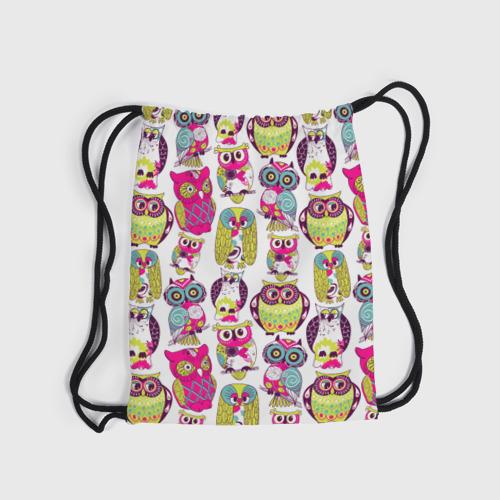 Рюкзак-мешок 3D Совы Фото 01