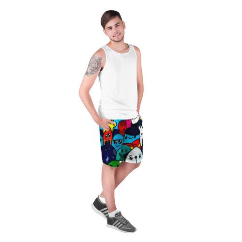 Мужские шорты 3D  Фото 03, Монстрбомбинг