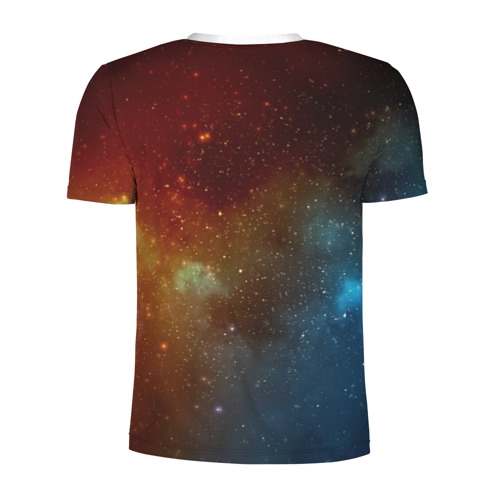 Мужская футболка 3D спортивная  Фото 02, Кот в космосе!