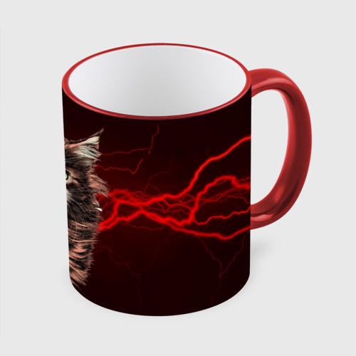 Кружка с полной запечаткой Electro cat