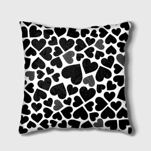 Подушка 3D Влюбленный котик Фото 01
