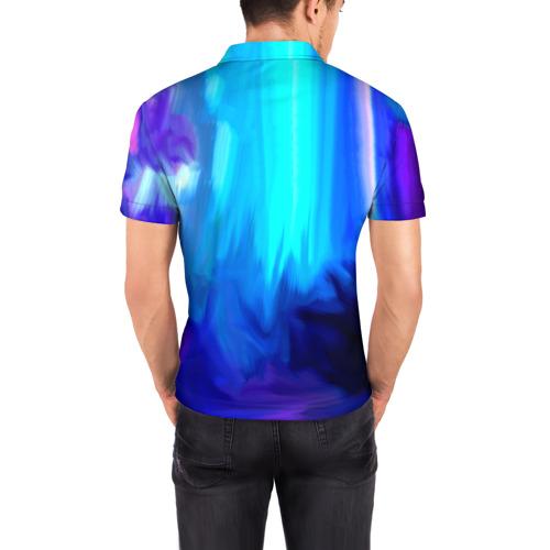 Мужская рубашка поло 3D  Фото 04, Киноман кот