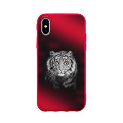 Тигр красные глаза