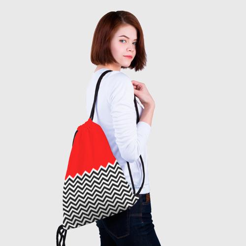 Рюкзак-мешок 3D  Фото 02, Твин Пикс