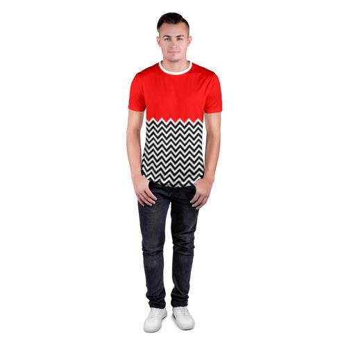 Мужская футболка 3D спортивная  Фото 04, Твин Пикс
