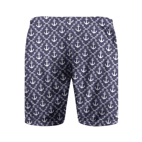 Мужские шорты 3D спортивные  Фото 02, Якори