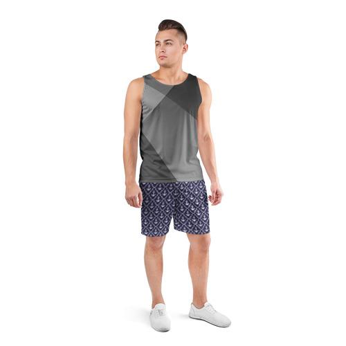 Мужские шорты 3D спортивные  Фото 04, Якори