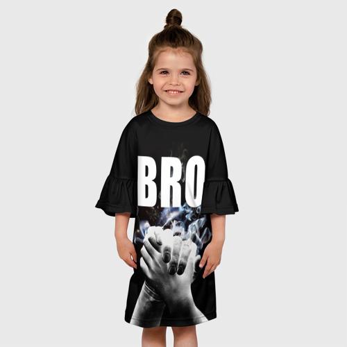 Детское платье 3D  Фото 01, BRO