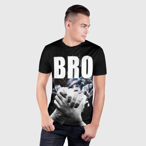 Мужская футболка 3D спортивная  Фото 03, BRO