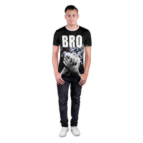 Мужская футболка 3D спортивная  Фото 04, BRO