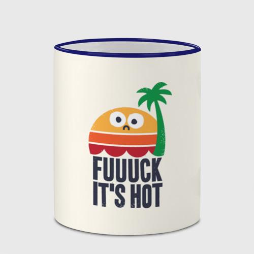 Кружка с полной запечаткой  Фото 03, Fuck it's hot