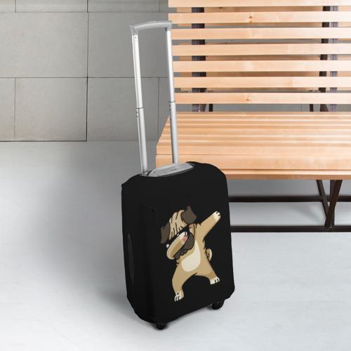 Чехол для чемодана 3D Dog dab Фото 01