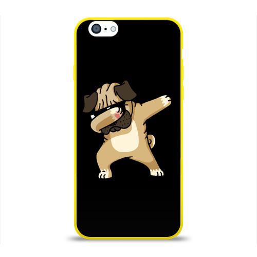 Чехол для Apple iPhone 6 силиконовый глянцевый Dog dab Фото 01