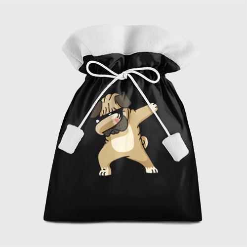Подарочный 3D мешок Dog dab Фото 01